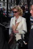 "Katherine Heigl in Paris with her mother during promotion for ""27 Dresses"""