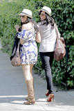 Tia &amp;amp; Tamera Mowry leaving Toast Bakery in LA - April 2, 2010 (x37)