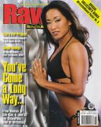 Gail Kim - WWE Raw Magazine Oct 2003 Scans