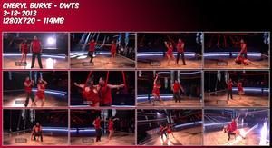 Cheryl Burke ~ DWTS 3-18-13