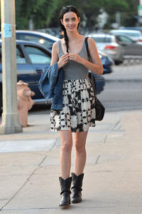 Krysten Ritter Out and about in L.A. 07-07-2014