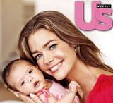Denise Richards -Us Weekly with adopted daughter (first picture)