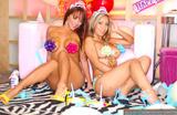 Кристин Мендоза, фото 210. Christine Mendoza & Pam Rodriguez-B'day Girls, foto 210
